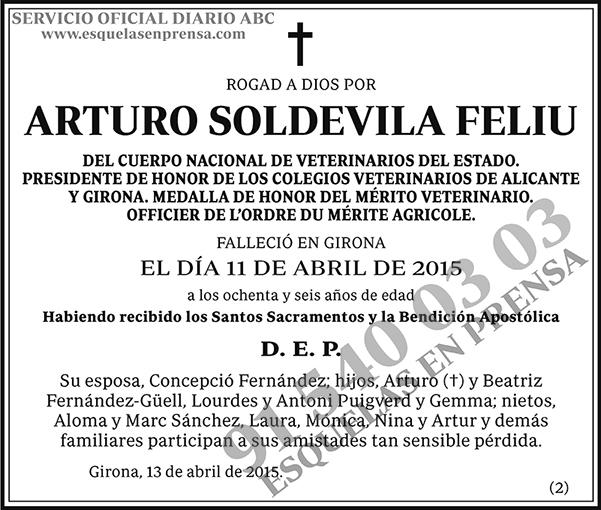 Arturo Soldevila Feliu